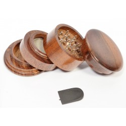 Rosewood Double Grinder with Filter